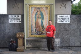 Photo of Mexico City Teotihuacan Pyramids and Shrine of Guadalupe Picture of Me at the Shrine of Our Lady of Guadalupe