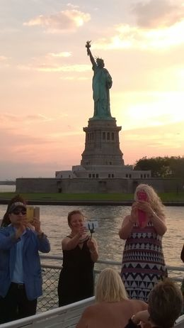 view of the statue from the boat , heather.morgan1 - June 2016