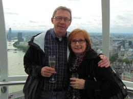 Photo of London London Eye: Champagne Experience The Eye - Champagne in hand
