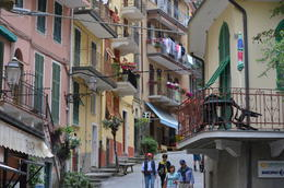 Photo of Florence Cinque Terre Small Group Day Trip from Florence Typical street scene in Cinque Terre