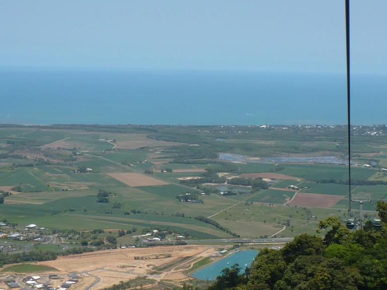 View from cable car - Port Douglas