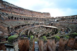 Photo of Rome Skip the Line: Ancient Rome and Colosseum Half-Day Walking Tour View of the Colosseum