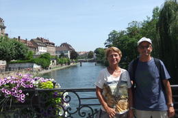 Anna and Mario in Strasbourg during Black Forest and Strasbourg Day Trip from Frankfurt. , Mario S - July 2014