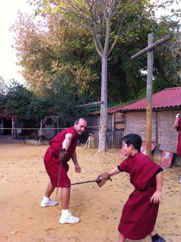 Photo of Rome Roman Gladiator School: Learn How to Become a Gladiator Amateur Gladiators