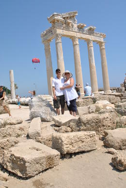 Photo of Antalya Perge, Aspendos and Manavgat Waterfalls Day Tour from Antalya Aphroditis Temple
