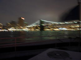 Photo of New York City New York Dinner Cruise Approaching the Bridges
