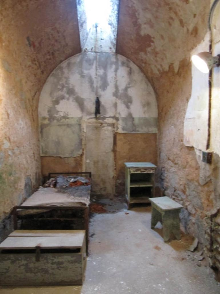 Cell at Eastern State Penitentiary - Philadelphia