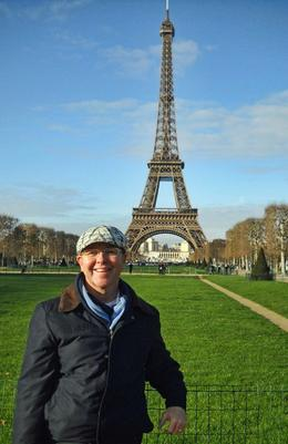 me and the Eiffel tower... , David A E - December 2011