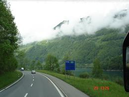 Photo of Zurich Eiger - Jungfrau Glacier Panorama View (from Zurich) En route to Interlaken