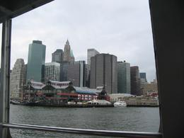 Photo of New York City Manhattan Harbor Cruise Financial district