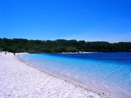 Lake McKenzie Beach, Fraser Island, Queensland, Australia - May 2011