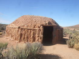 adobe hut at the west rim... pretty cool., Michele Carbajal Curiel - January 2014