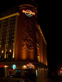 Photo of Lisbon Hard Rock Cafe Lisbon Hard Rock Cafe at night