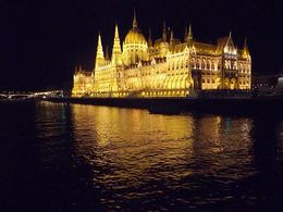 Incredible view from the Danube of the incredible architecture of Budapest. , Roy T - October 2015