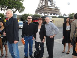 Photo of Paris Eiffel Tower, Paris Moulin Rouge Show and Seine River Cruise In front of the Eiffel Tower