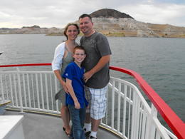 Photo of Las Vegas Lake Mead Dinner Cruise Jaime, Travis & Jace