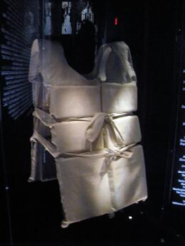 Photo of Orlando Titanic The Experience Life Vest