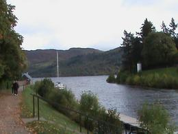 Fort Augustus - canal into Loch Ness., Mary A - October 2010