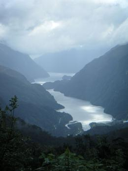 Photo of Fiordland & Milford Sound Doubtful Sound Wilderness Cruise from Te Anau Looking down at Doubtful Sound