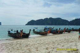 Photo of   On the beach at Phi Phi island
