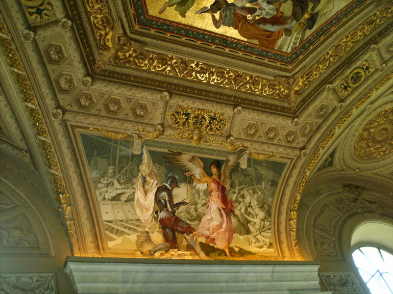 One of the ceilings inside - Rome