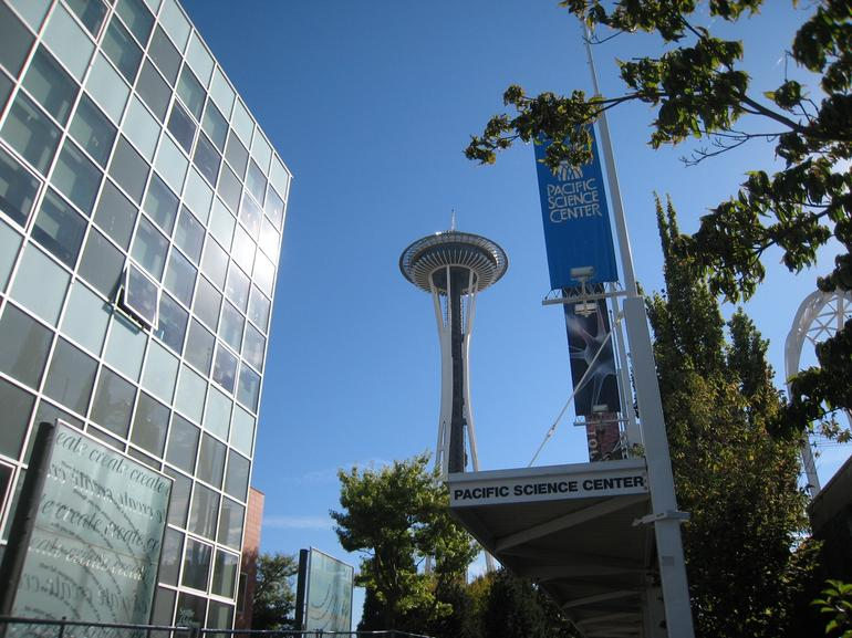 Space Needle from Ground - Seattle