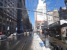 Rode the tour bus through downtown NYC. I saw a lot went up to top of Empire State Building. Unfortunately; the bus had no working heat. You would not expect it on the upper level which is..., MICHAEL P - January 2014