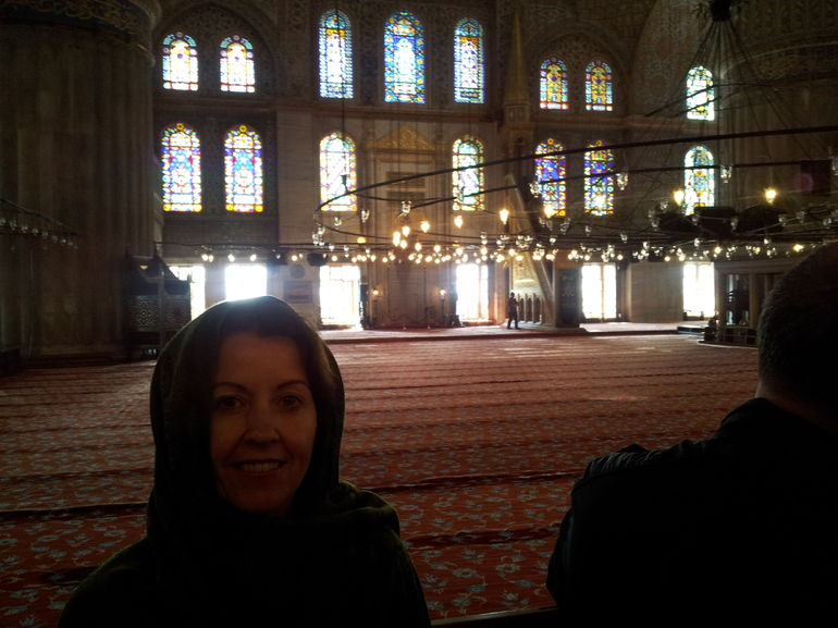 The experience of the Blue Mosque was very special. Exquisite architecture!