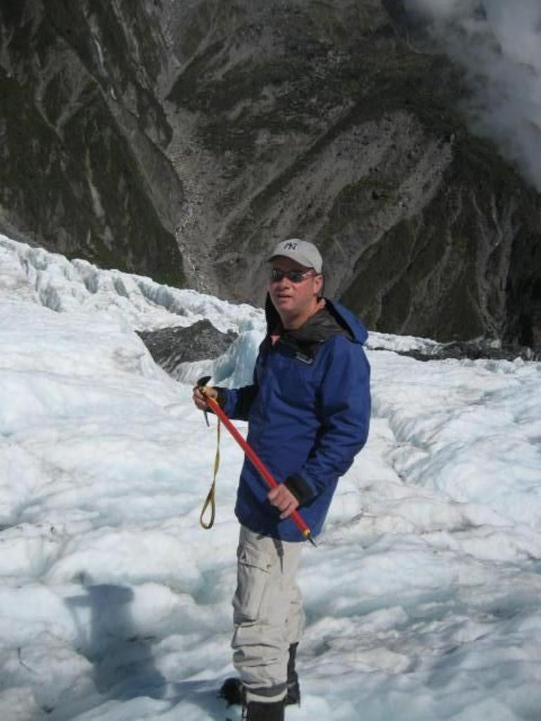 The Hiker! - Franz Josef & Fox Glacier