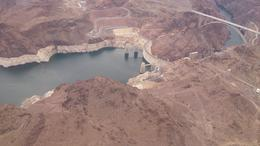Hoover dam from the helicopter on our way out , Stefan G - September 2013