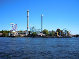 Photo of   Tivoli Grona Lund viewed by boat, Stockholm