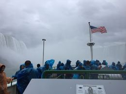 View from Maid of the Mist boat tour on 6th Nov 2015 , lsp - November 2015