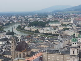 picture taken from top of Hohensalzburg Castle , Simone P - August 2013