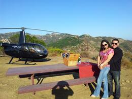 Photo of Los Angeles Los Angeles Sightseeing Tour by Helicopter with Mountaintop Landing and Champagne Toast WP_000400