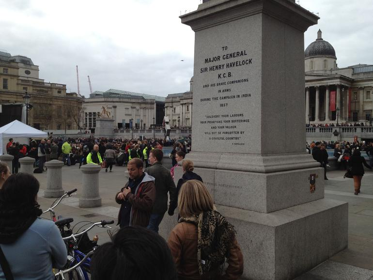 Bike Tour in Trafalgar Square - London