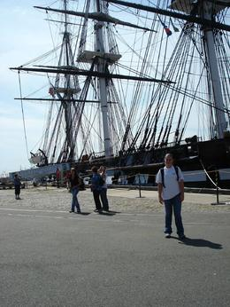 Katie getting ready to board the U.S.S. Constitution. , Keith K - August 2012