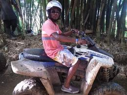 Photo of Montego Bay Jamaica ATV Off-Road Adventure to Sandy Bay Hubby on his ATV