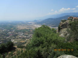 Town at base of monasteries , Victor A - July 2013