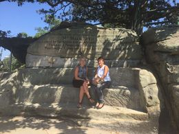 Photo of   Mrs Macquarie's Chair