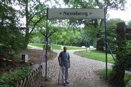 Mario at Neroberg Mountain in Wiesbaden, during Wiesbaden and Mainz Day Trip from Frankfurt. , Mario S - July 2014