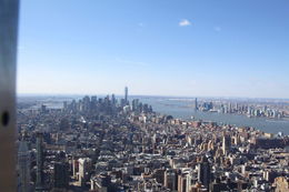 NY vom Empire State , ulf - April 2015