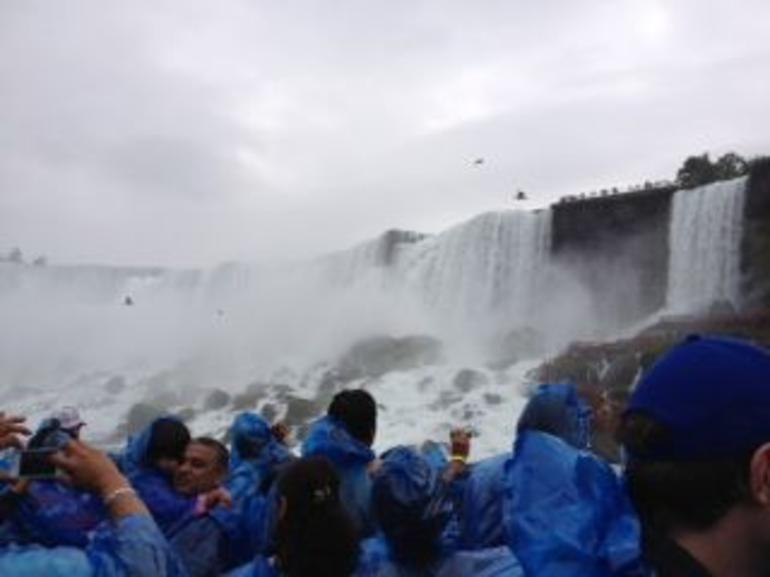 Onboard Maid of the Mist - New York City