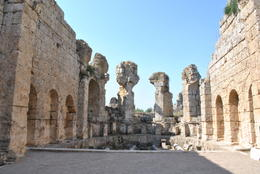 The ruines are very well maintained. , Tanya D - July 2011
