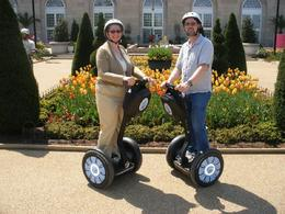 My wife and me in front of the National Botanical Gardens., Louis K - May 2009