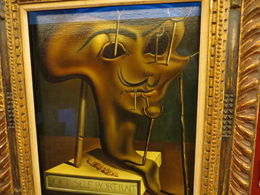 This is Dali's Soft Self Portrait with Bacon. It's hilarious! , Patricia - January 2016
