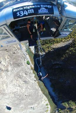 Photo of Queenstown Queenstown Nevis Highwire Bungy Jump The big jump...