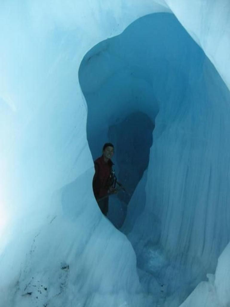 The Blue Cave - Franz Josef & Fox Glacier