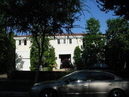 The house of the Menendez boys - Lyle and Erik - who killed their parents for the money. - October 2009