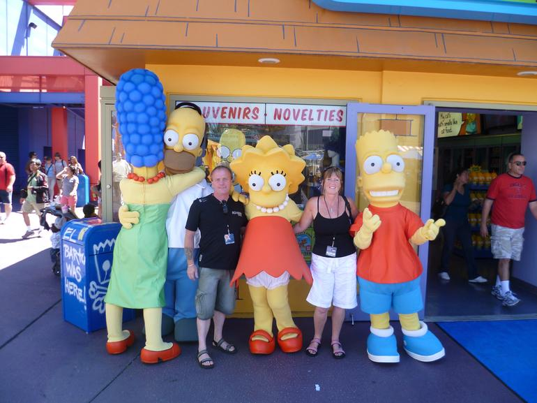 The Simpsons - Los Angeles