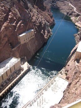 Photo of Las Vegas Hoover Dam Tour from Las Vegas View from the top